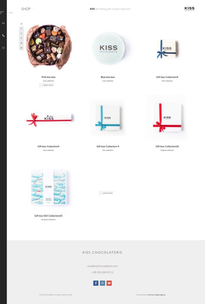 kiss-woocommerce-shop-design / Brand development / Branding / Design and development support / Digital / eCommerce / Front end/Back end Development / Logo design / Mobile / Mobile apps design / Mobile apps development / Package design / Rebranding / Responsive Web Design / Service design / UI/UX design
