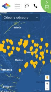 Google Map API integration locator locations places google api